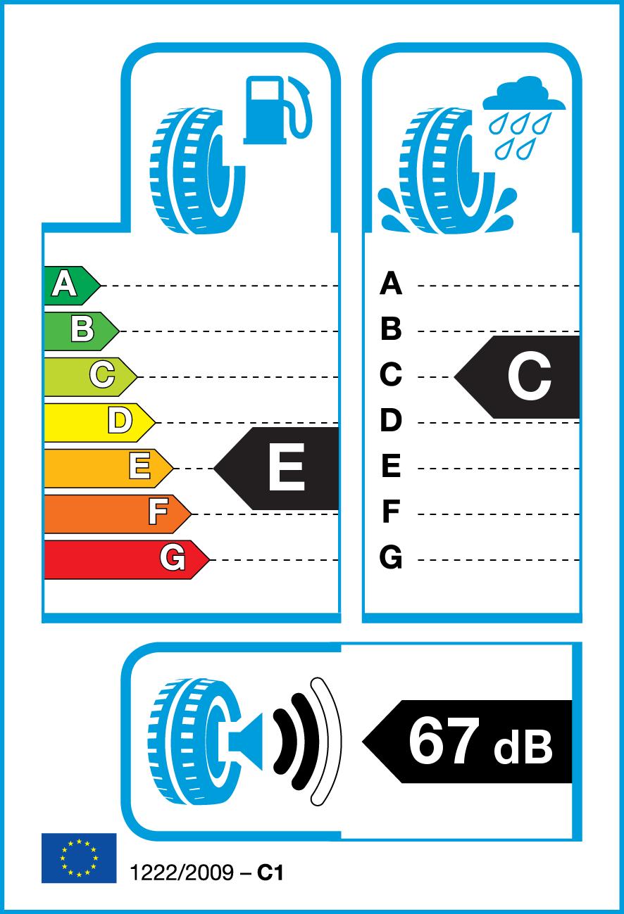 Summer Tyre ROADSTONE EUROVIS HP02 145/65R15 72 T